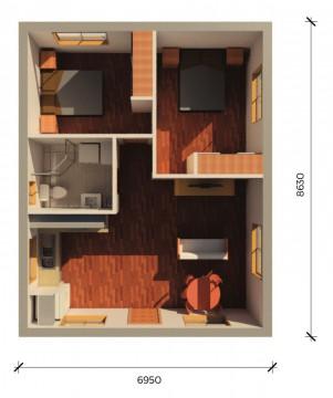 ABBOTSBURY  3D FLOORPLAN