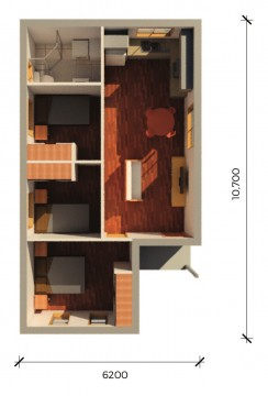 ALPINEPLUS  3D FLOORPLAN