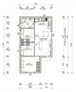ALPINE  2D FLOORPLAN