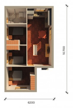 ALPINE  3D FLOORPLAN