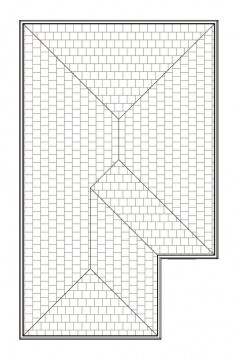 ALPINE  ROOF PLAN