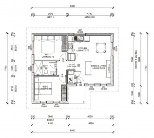 BUNDEENAPLUS  2D FLOORPLAN