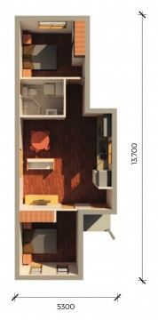 CARLTONPLUS  3D FLOORPLAN
