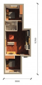 CARLTON  3D FLOORPLAN