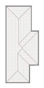 CARLTON  ROOF PLAN