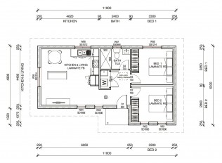 CRAWFORDPLUS  2D FLOORPLAN