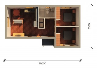 CRAWFORDPLUS  3D FLOORPLAN