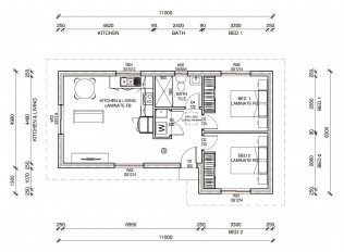 CRAWFORD  2D FLOORPLAN