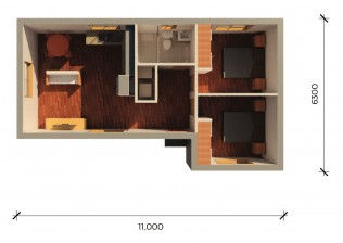 CRAWFORD  3D FLOORPLAN