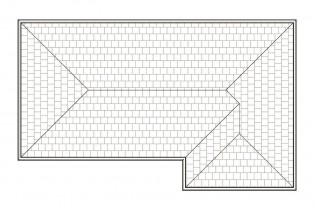 CRAWFORD  ROOF PLAN
