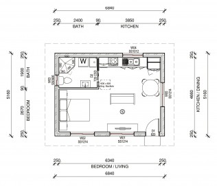 DORIS  2D FLOORPLAN