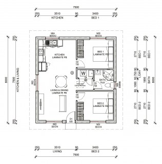 EPPING  2D FLOORPLAN