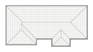 FRENCHPLUS  ROOF PLAN