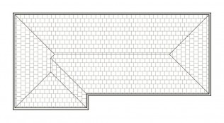 FRENCH  ROOF PLAN