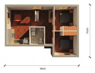 HELENSBURGH  3D FLOORPLAN