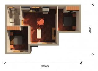 NORFOLK  3D FLOORPLAN