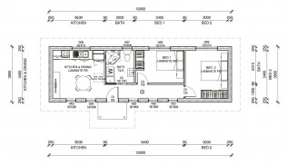 ROSEVILLEPLUS  2D FLOORPLAN