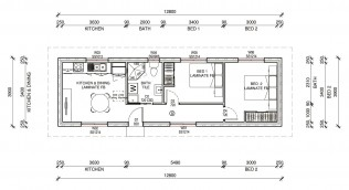 ROSEVILLE  2D FLOORPLAN