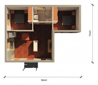 SAMSONPLUS  3D FLOORPLAN