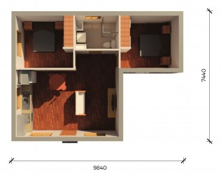 SAMSON  3D FLOORPLAN