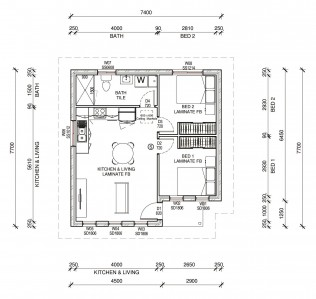 SIANA1PLUS  2D FLOORPLAN