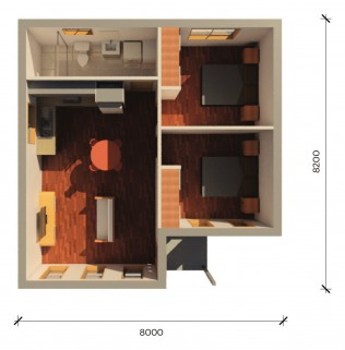 SIANA2PLUS  3D FLOORPLAN
