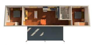 AMBER EXTENDED 3D FLOORPLAN