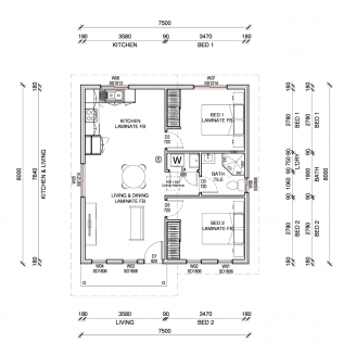GALENA PLUS 2D FLOORPLAN
