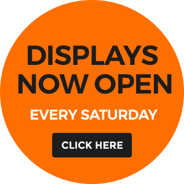 Displays now open every Saturday