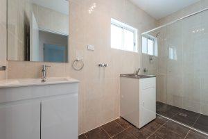 bathroom of granny flat build